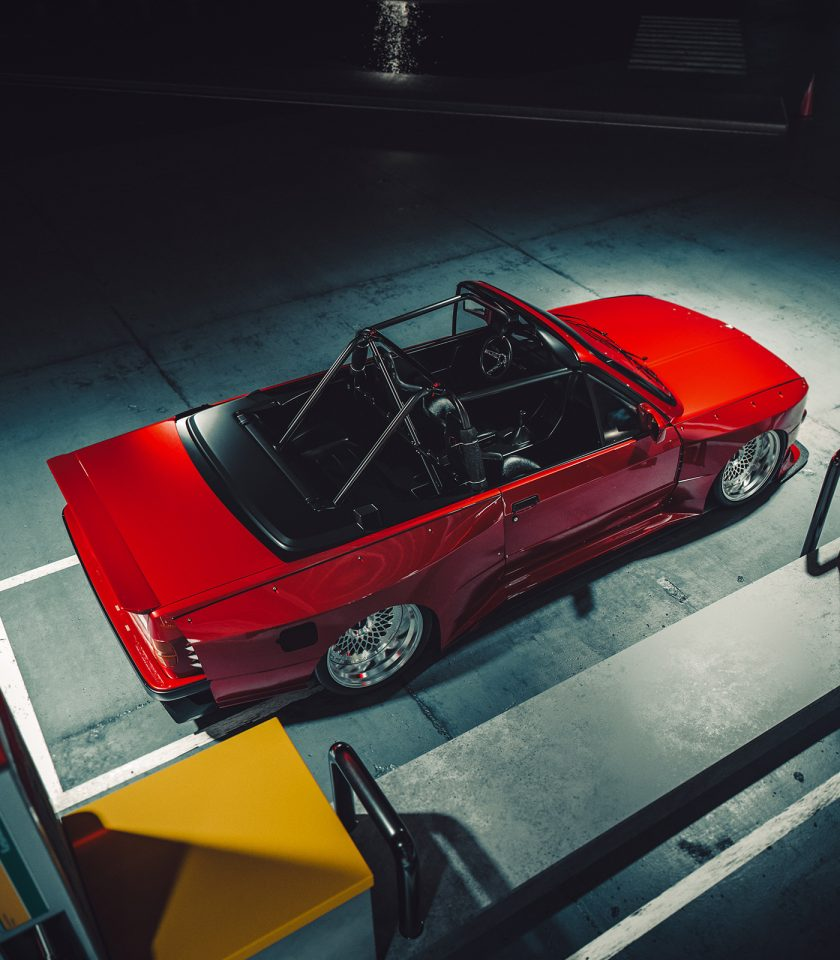 Live to Offend—E30 Convertible